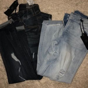 2 pair of Brand New Skinny Jeans.